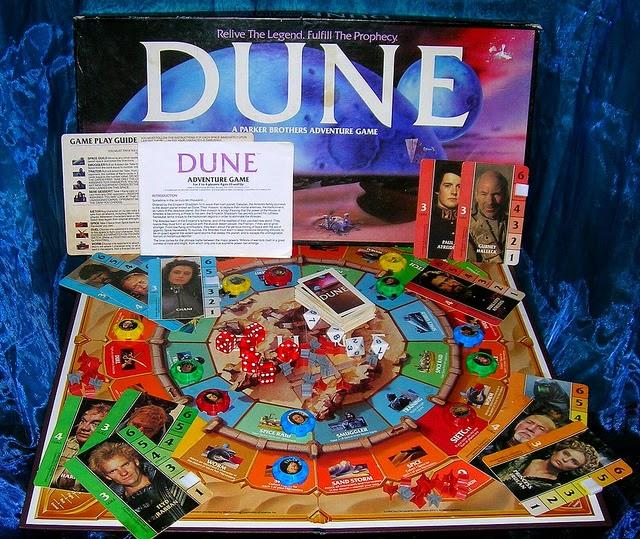 Dune juego mesa Parker