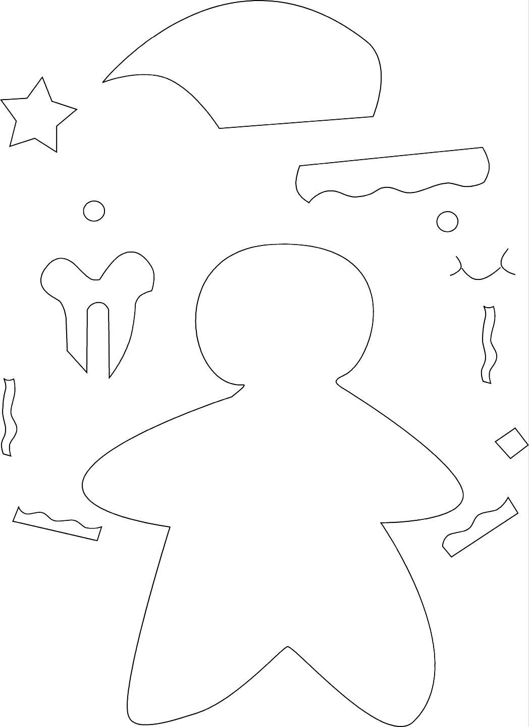 figuras y moldes de foami: 2012