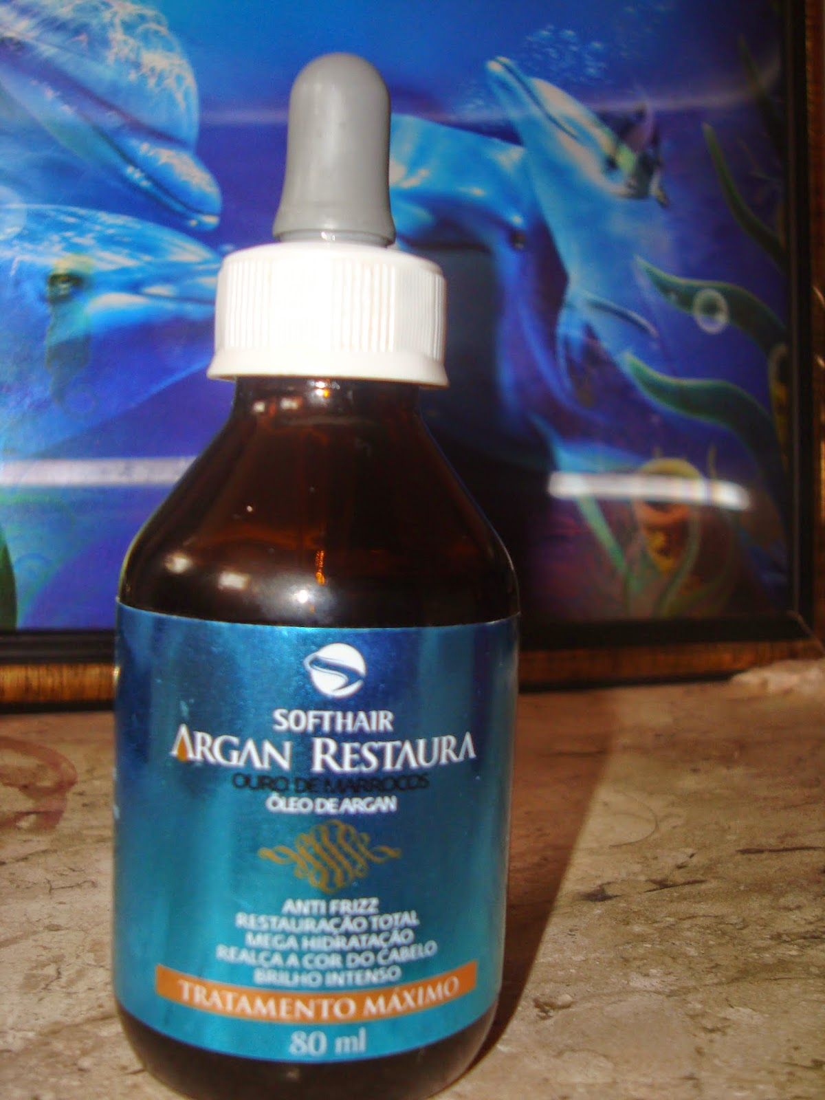 .Óleo de Argan Soft Hair Argan: