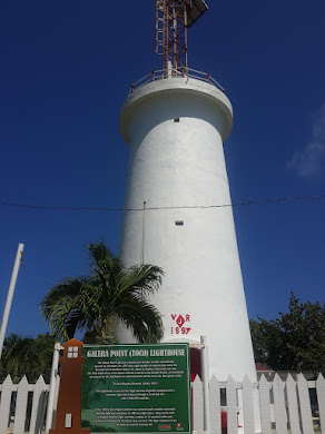 THE TOCO LIGHT-HOUSE; NORTH EAST TIP OF TRINIDAD