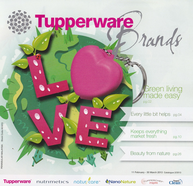 .:KATALOG TUPPERWARE 2/2013 (11 FEB 2013 - 30 MAC 2013):.