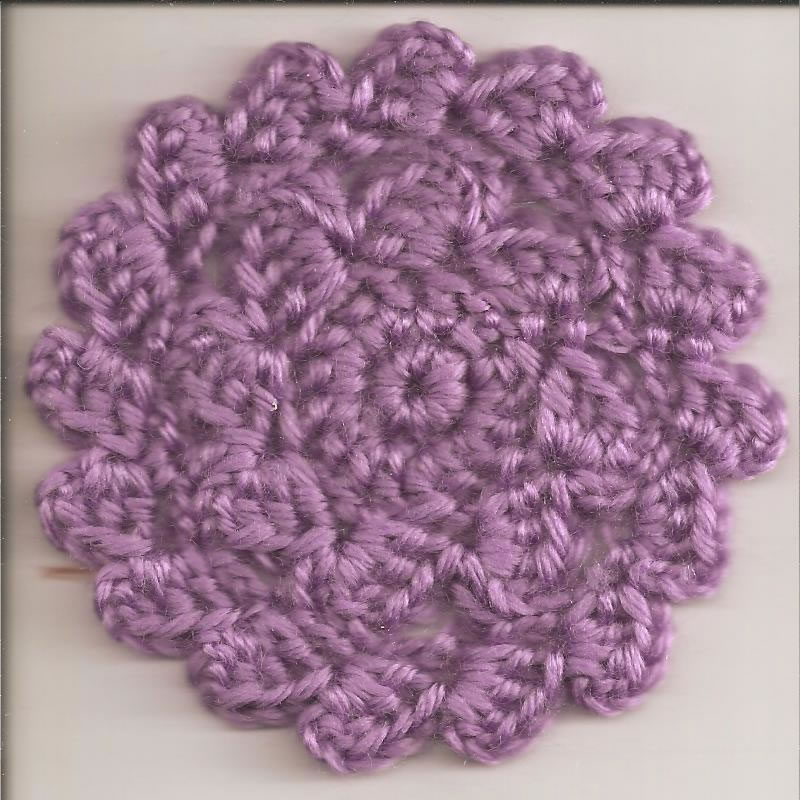 Knitted Coasters Free Patterns : SmoothFox Crochet and Knit: SmoothFoxs Petal Coasters - Free Pattern