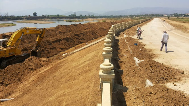 Gia lai: Nhiều sai sót ở dự án bờ kè sông Ba