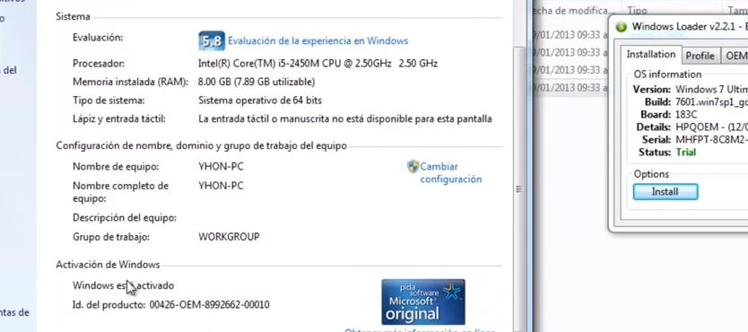 clave de activacion de windows 7 home premium 64 bits