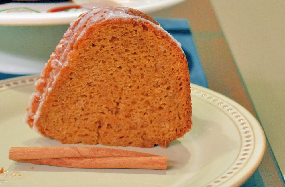 ... ice cream and a cup of coffee enjoy your pumpkin spice bundt cake