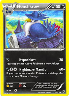 Honchkrow Phantom Forces Pokemon Card