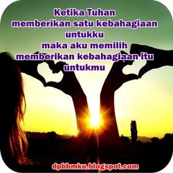 DP BBM Cinta