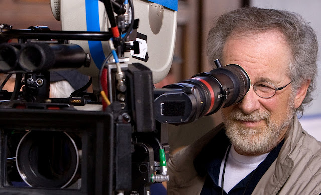 Spielberg behind the camera