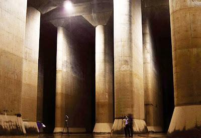 Projeto G-Cans - Tóquio - Maior galeria subterrânea do mundo