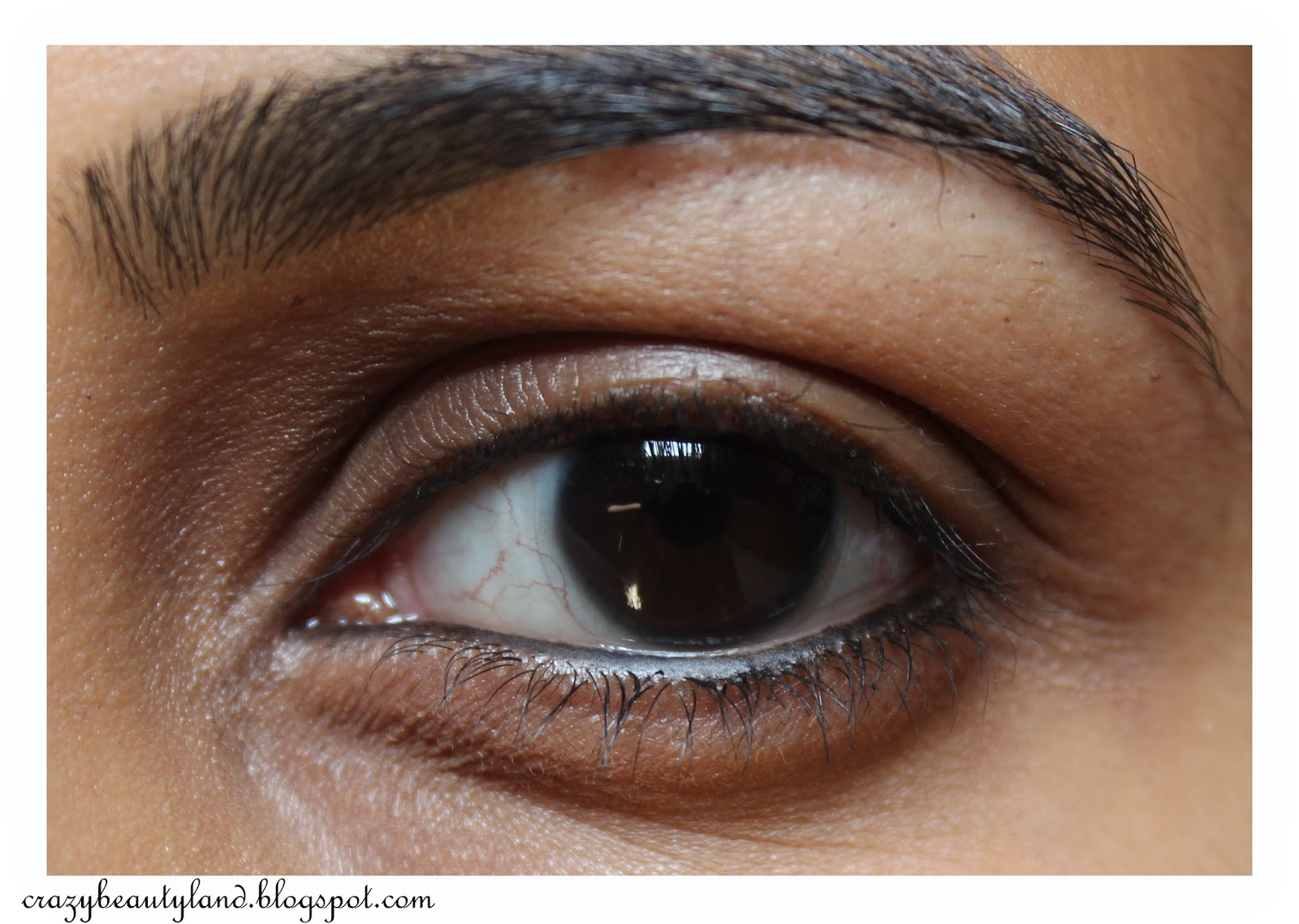 Lakme Eyeconic 10 Hr Kajal in Brown- Review,Price, Swatches, Photos, EOTD, how to use, smoky eye look, smokey brown eyes, everyday makeup, buy online in india