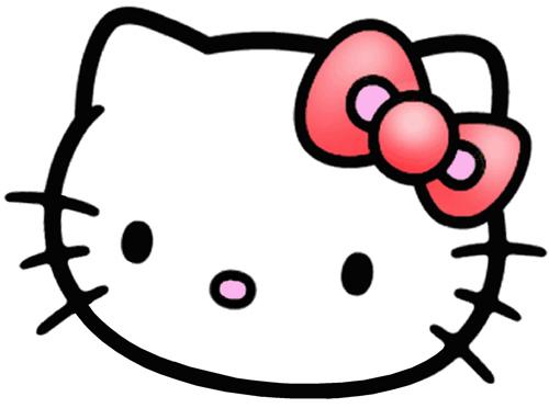 Cara hello kitty para imprimir