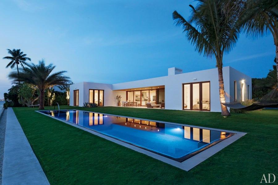 Lulu belle design september 2012 Celebrity homes architectural digest