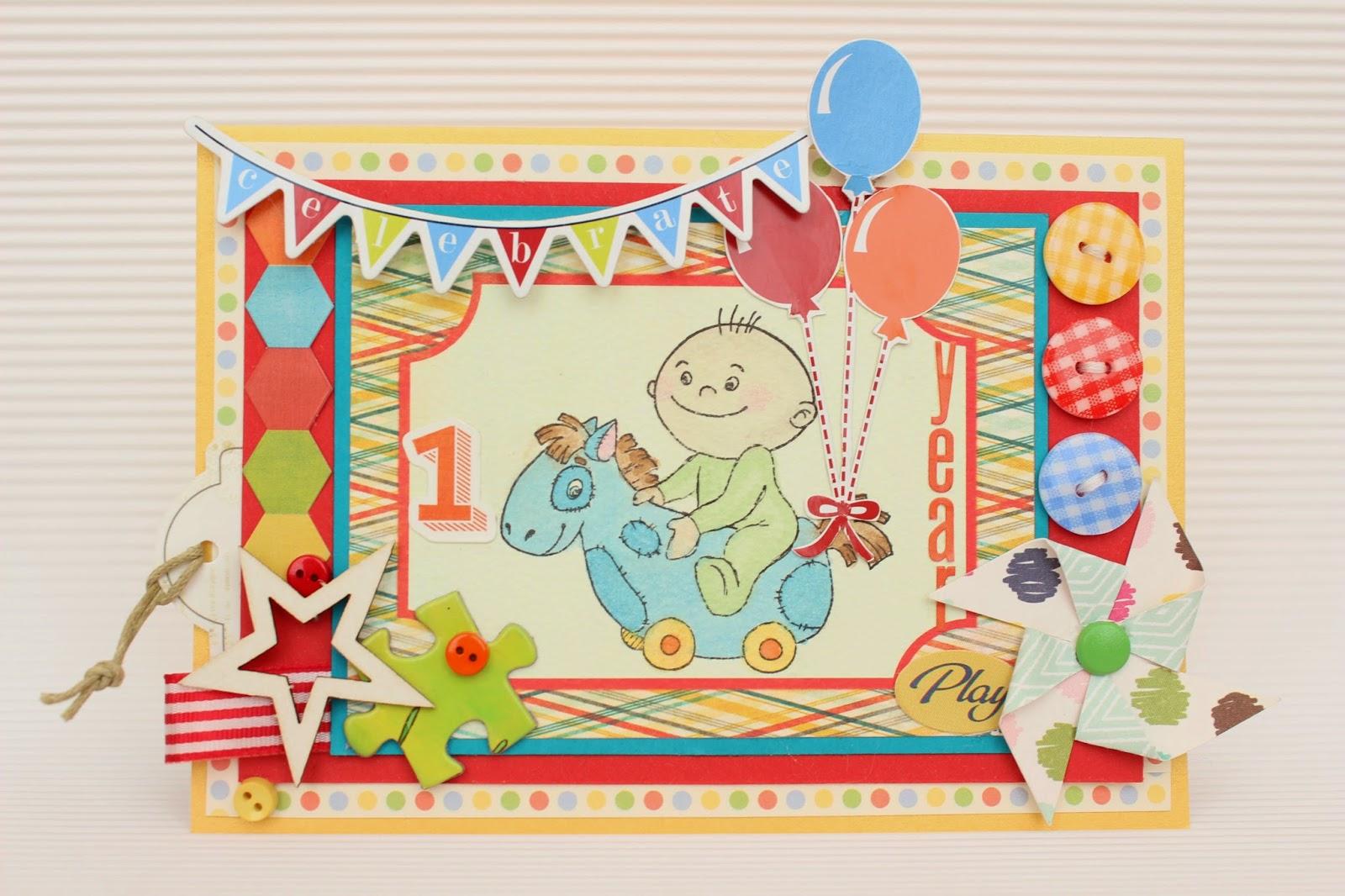Поздравление малышу на 1 годик и для его родителей