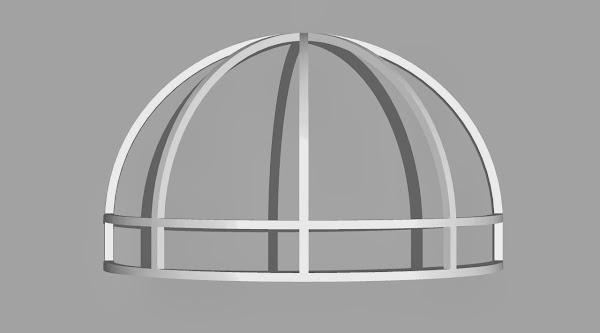 rangka canopy kain