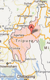 """Tripura_google_map_cyclonic_storm_in_tripura_india"""