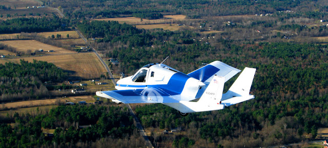 Terrafugia Flying Car on Air