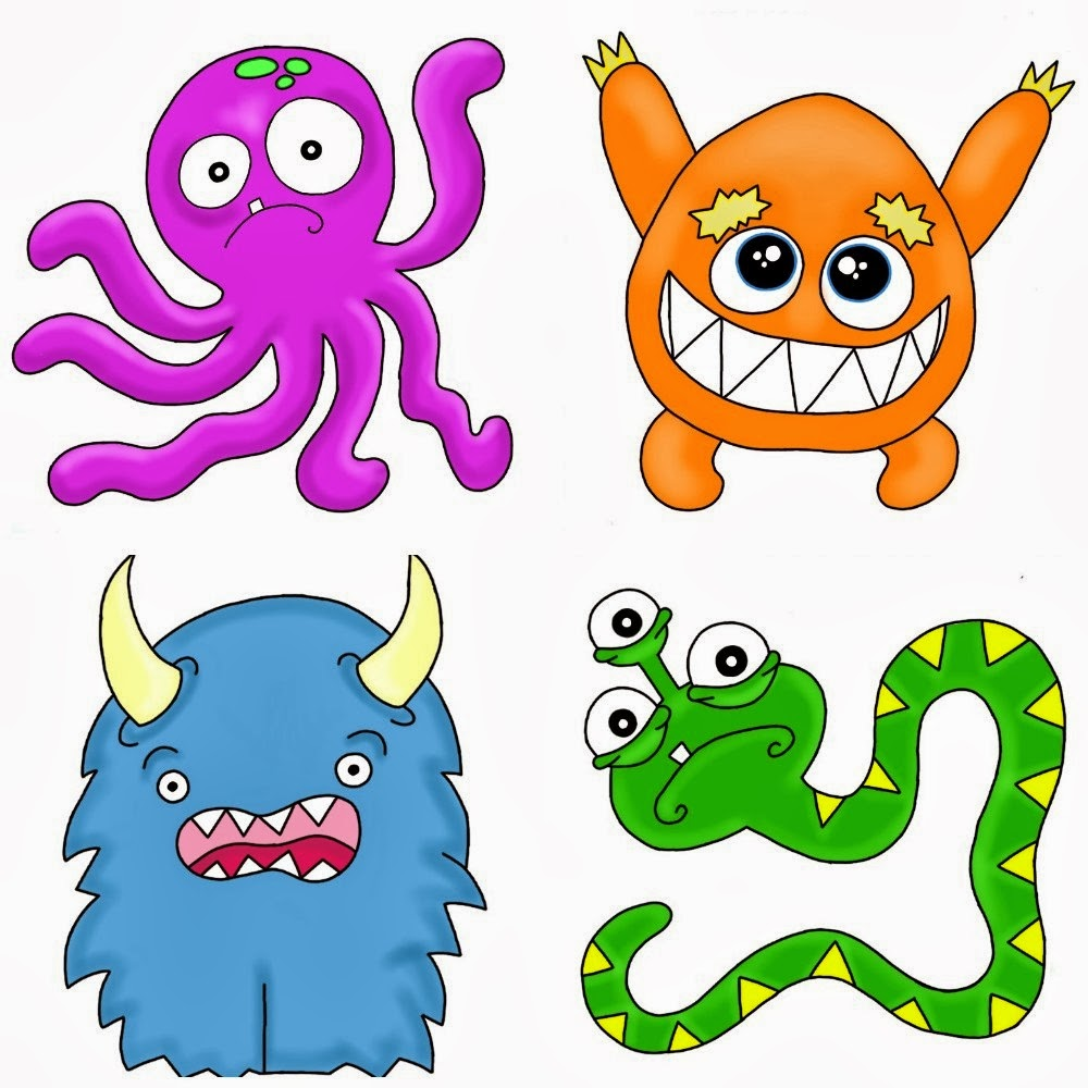Image Result For Monster Quilt Coloring