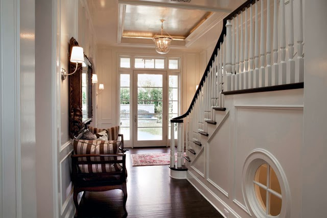 Hamptons Beach house entry way