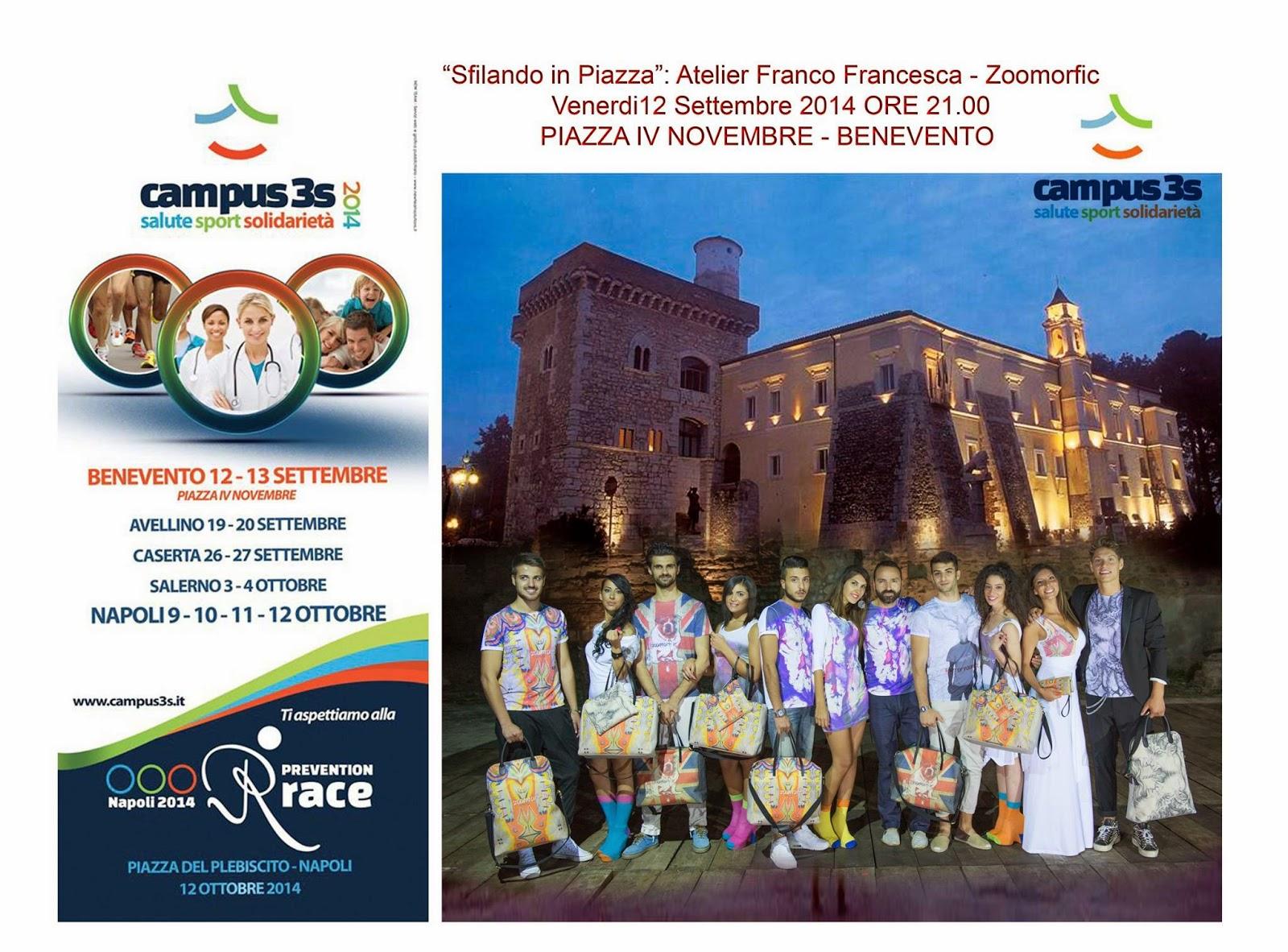 Atelier Franco Francesca presenta Sfilando in piazza,