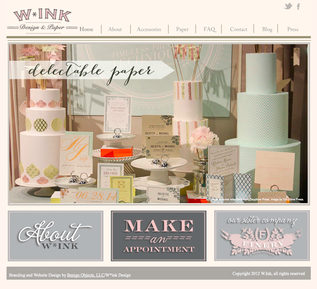 W*Ink website