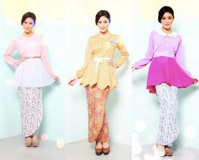Fesyen Baju Raya 2014