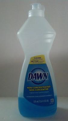 Mint Juleps 'n Muddin': Dawn Dish Detergent Stain Remover