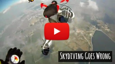 Watch how Skydiving turned Horribly wrong for Inexperienced Student Eugene S as he dangerously plummets towards the Earth while his Instructors desperately try to reach Him via geniushowto.blogspot.com Skydiving extreme Sports accident videos