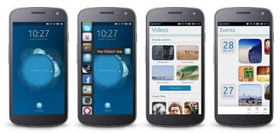 Pantallas ubuntu para móviles, como es ubuntu para moviles