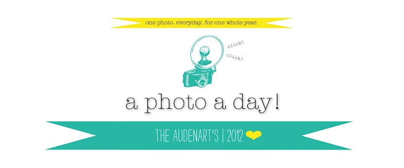Audenart Family A Photo A Day '12