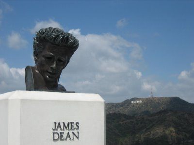 James Dean Statue