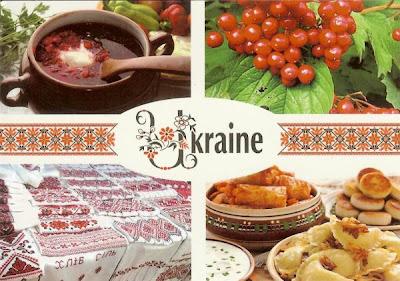 A postcard a day ukraine for Cuisine 400 euros