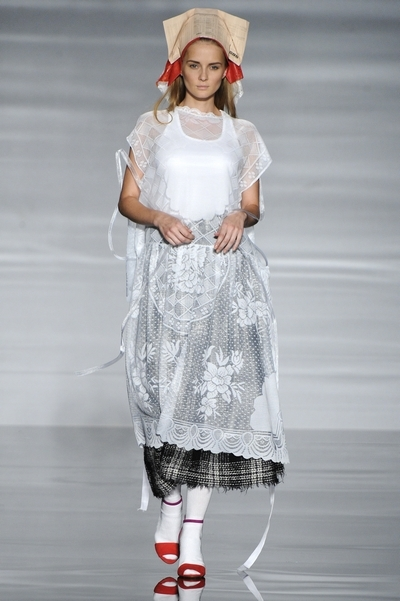 Daphne Stylianou university of westminster graduate fashion show 2012