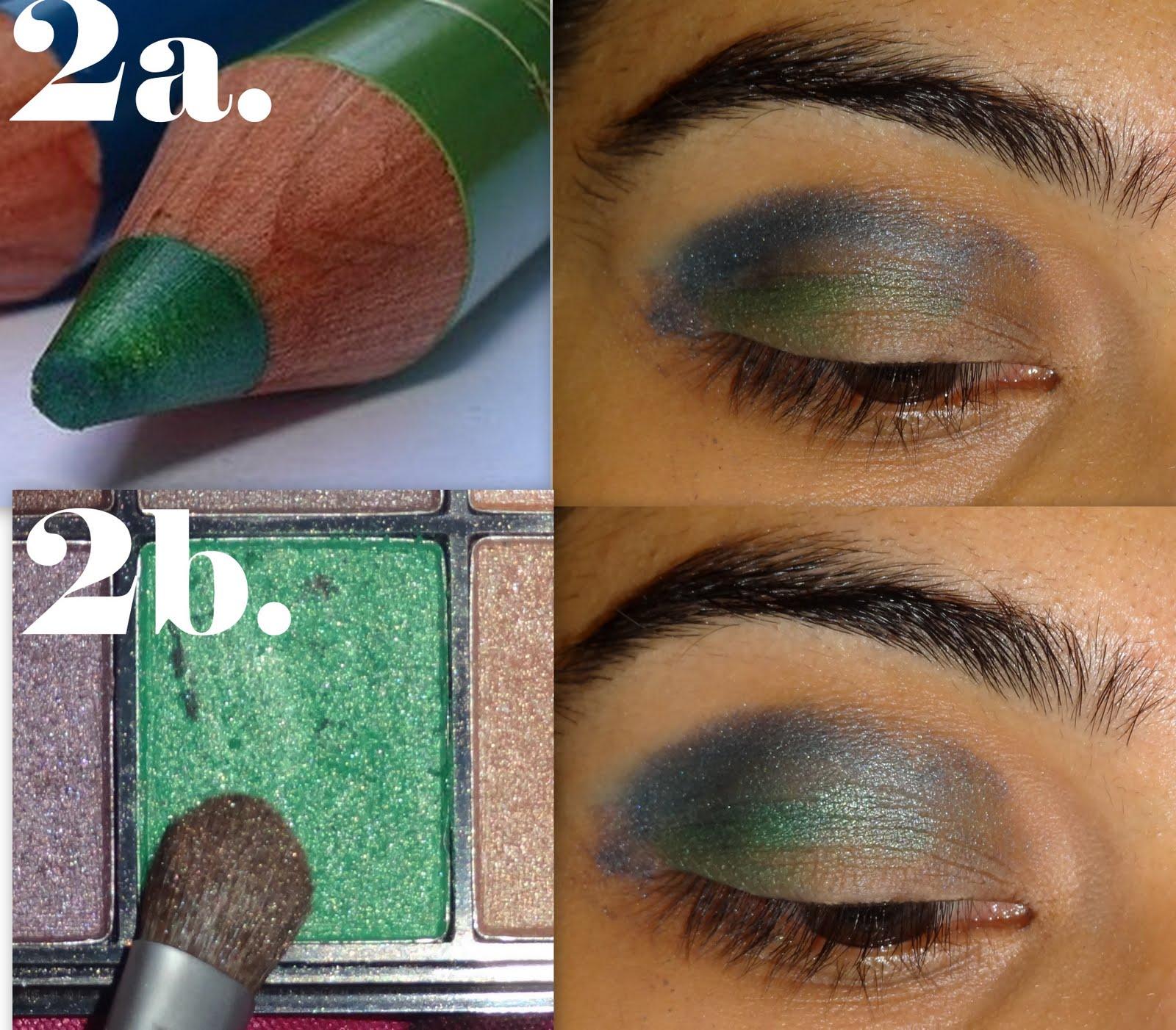 Green and blue eye makeup tutorial peachesandblush green and blue eye makeup tutorial baditri Images