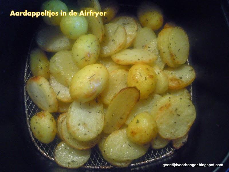 Aardappeltjes in de Philips Airfryer