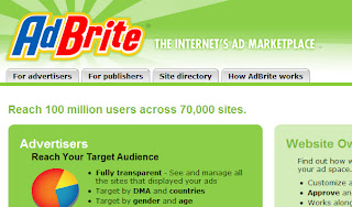 AdBrite, plateforme publicitaire de monétisation