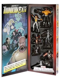 Hasbro Marvel Legends Thunderbolts SDCC 2013 Deluxe Set