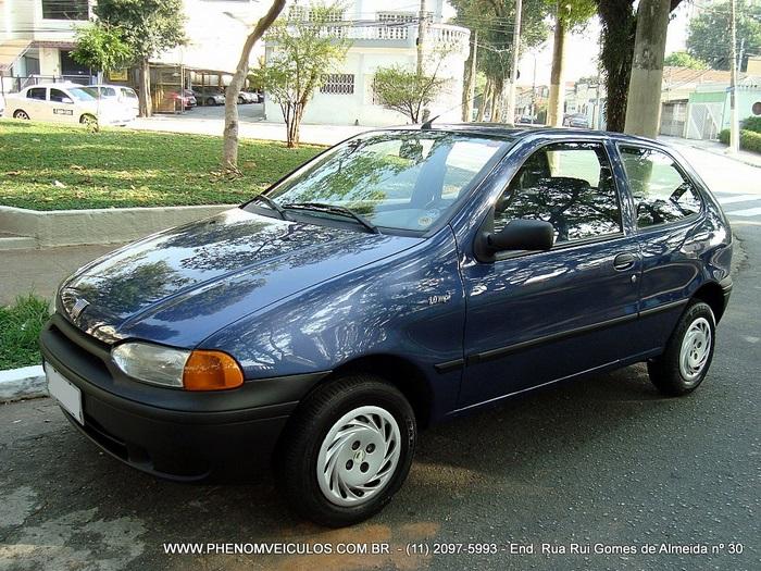 Fiat Palio 1.0 MPI EX 2 Portas 1999