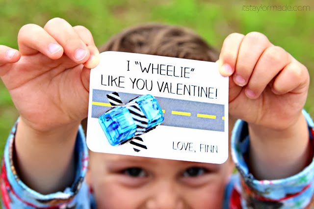 "I ""Wheelie"" Like You Valentine by Taylormade for C.R.A.F.T."