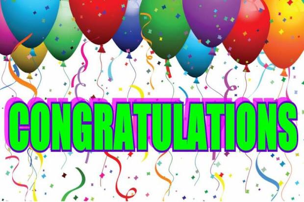 congratulations bosquederoble