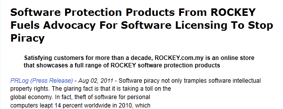 how to make software protection dongle