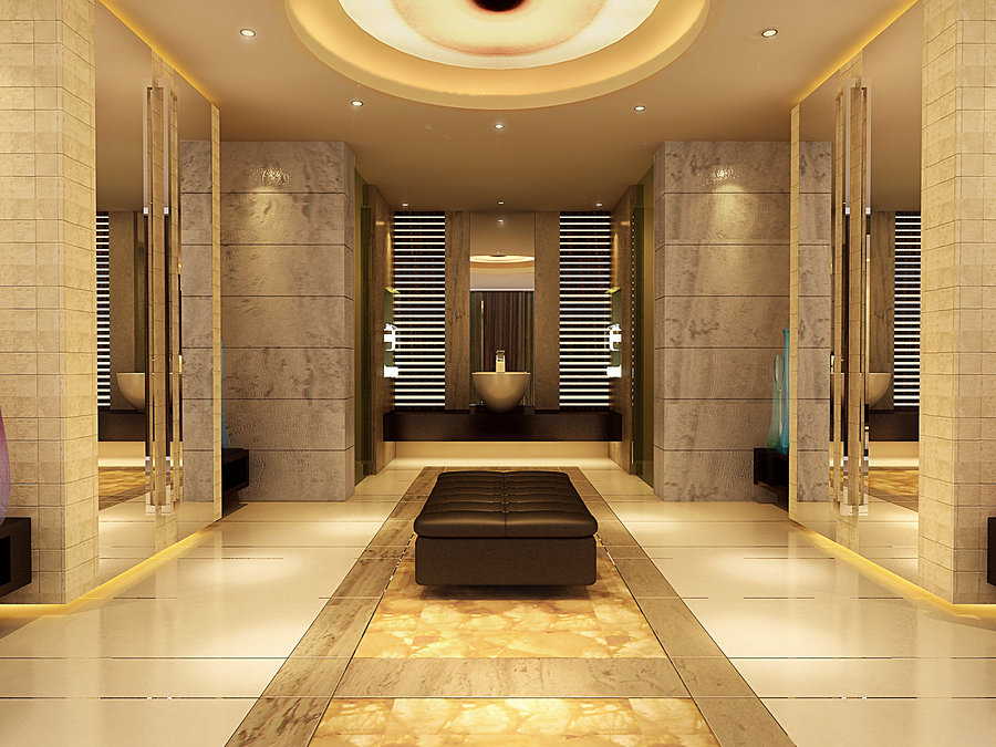 Luxury bathroom design ideas wonderful for Restroom ideas