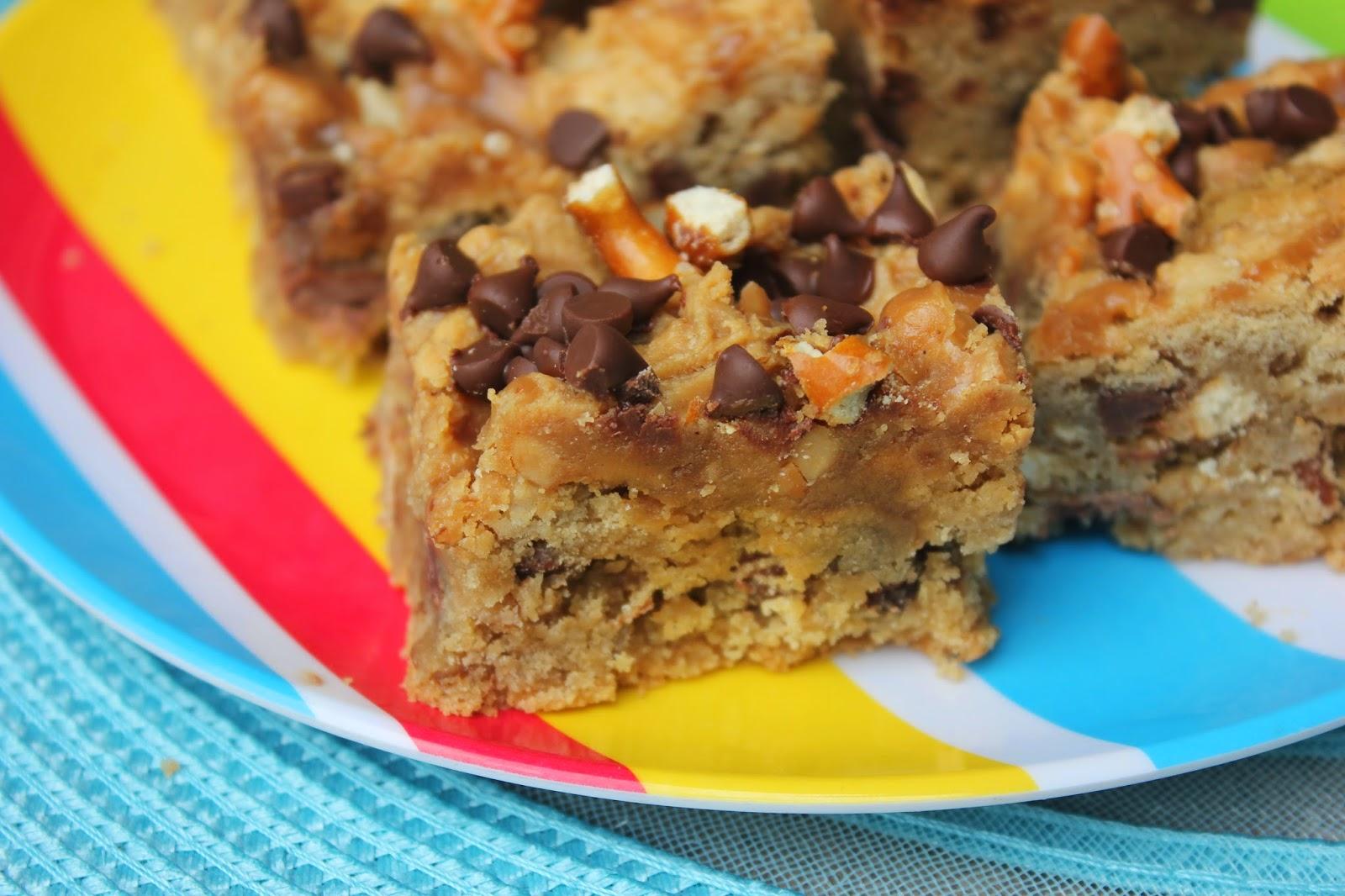 Take 5 Pretzel Caramel Bars, pretzel cookies, cookie bars, caramel cookie bars, Recipe:  Dessert, Recipe:  Cookie,
