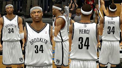 NBA 2K14 Brooklyn Nets Home Jersey