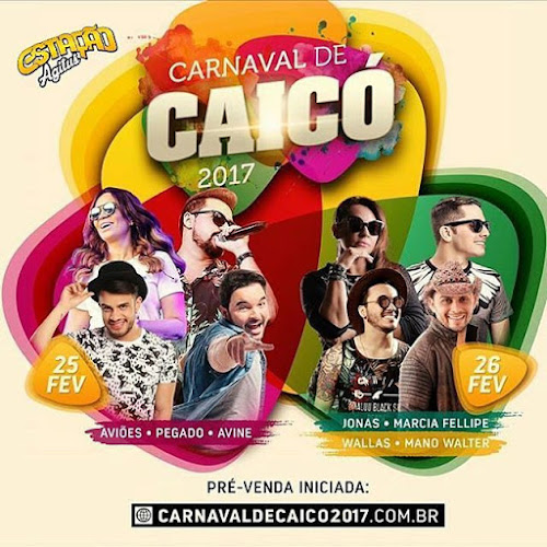 Carnaval de Caicó - RN 25 e 26 de Fevereiro 2017