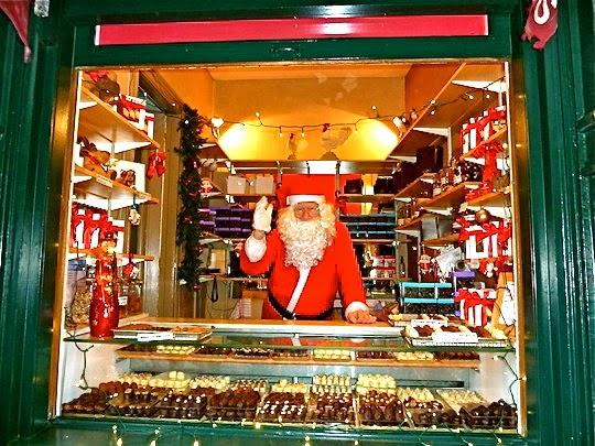 Santa Claus Christmas market