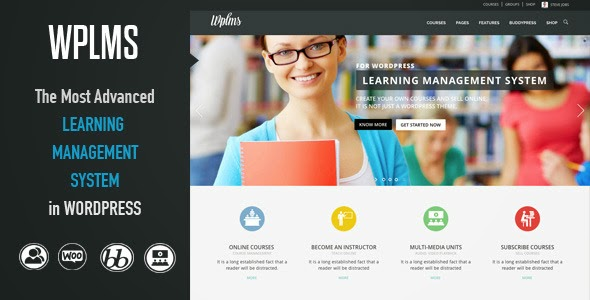 WPLMS v1.8.3 - Learning Management System