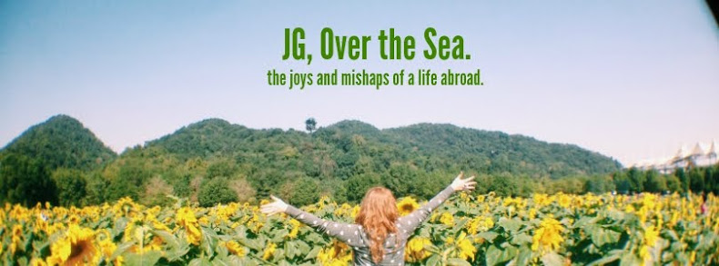 JG, Over the Sea.