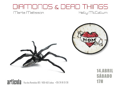 EXPO 'Diamonds and Dead Things' - Galeria Articula, Lisboa (Portugal) - 14 Avril-12 Mai 2012 dans Exposition/Exhibition diamonds+&+dead+things
