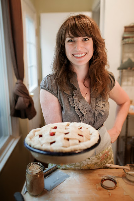 Kate Lebo with Pie