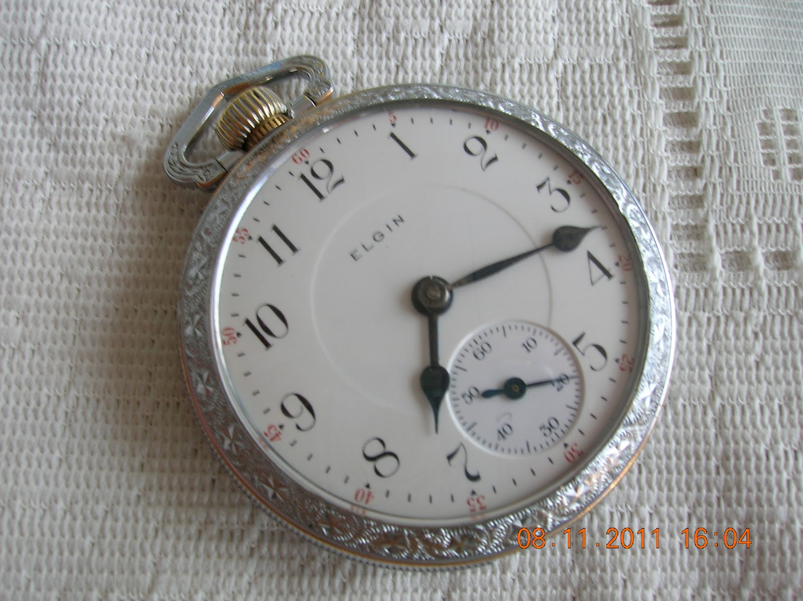 Dating elgin pocket watch